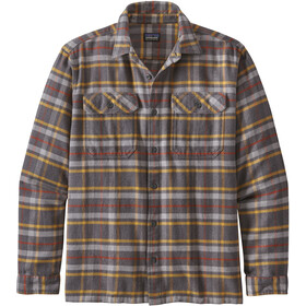 Patagonia Fjord LS Flannel Shirt Men independence/forge grey